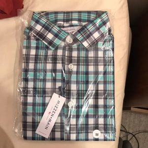 (NWT) Mizzen+Main Dress Shirt